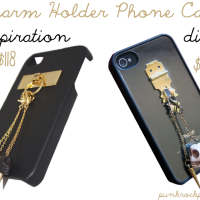 DIY_Charm Holder Phone Case