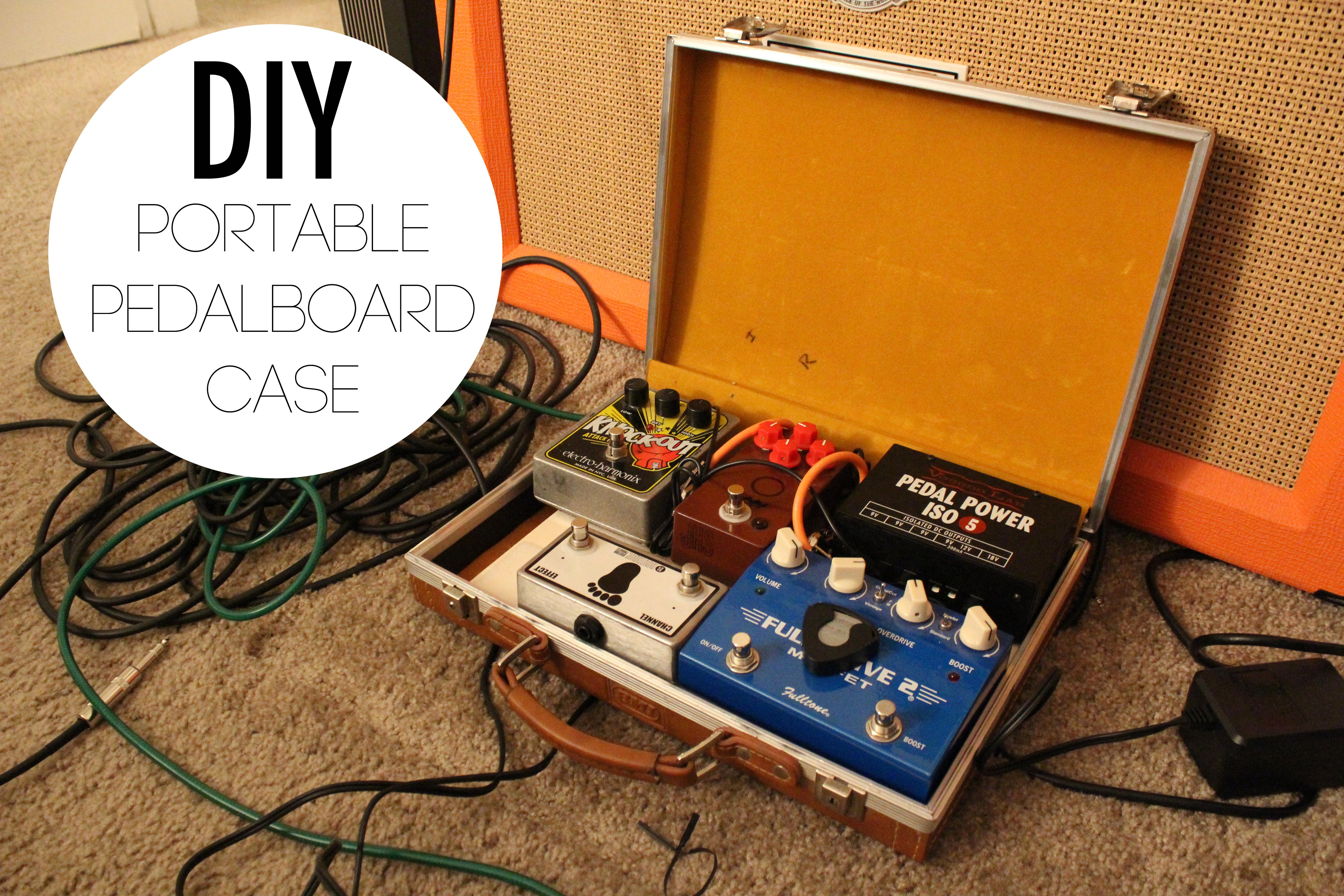 diy portable pedalboard case. Black Bedroom Furniture Sets. Home Design Ideas