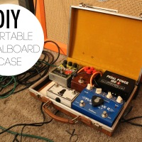 DIY_Portable Pedalboard Case